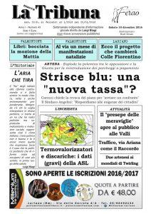 """In edicola il settimanale """"La Nuova Tribuna"""""""