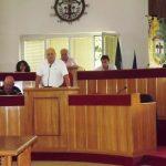 Una seduta del Consiglio comunale