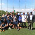 I ragazzi di Artena, vincitori del Torneo