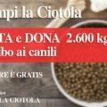 """""""Riempi la Ciotola"""": l'iniziativa per donare gratis cibo a cani e gatti"""