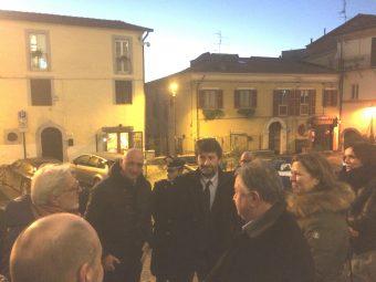 Franceschini ha fatto visita a Colleferro e Valmontone