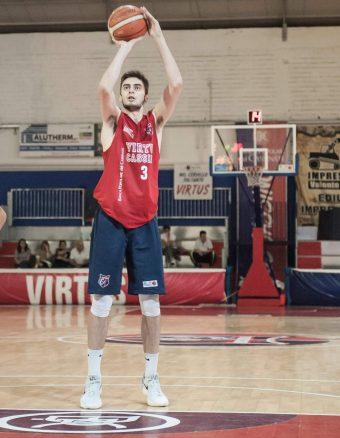 Basket: in casa Virtus presentato il nuovo acquisto Di Poce