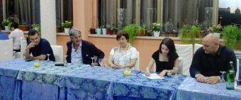 Da sinistra: Christian Calabrese, Marco Pagliani, Annalisa Terranova, Miriam Gualandi, Manuel Mancini