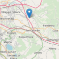 Scossa di terremoto stanotte con epicentro a Gallicano nel Lazio