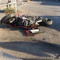 Scontro tra Ducati e Opel Corsa a Artena. Ragazzo portato all'Umberto I – FOTO