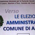 Stasera alle 19.30 il confronto tra i candidati sindaci di Artena