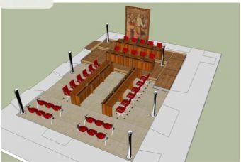 Iniziano i lavori per spostare l'aula consiliare di Valmontone a Palazzo Doria
