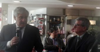 """Europee – Ladaga con Tajani da Lariano: """"Le priorità sono: sanità, scuola e servizi sociali"""""""