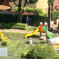 Riaperto il parco giochi davanti al Comune di Lariano