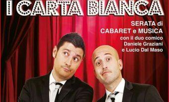 """A Lariano stasera """"I Carta Bianca"""" in piazza. Artena: rinviato lo show di Gabriele Marconi"""