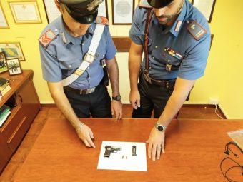 Arrestato a Valmontone: aveva una pistola con matricola abrasa