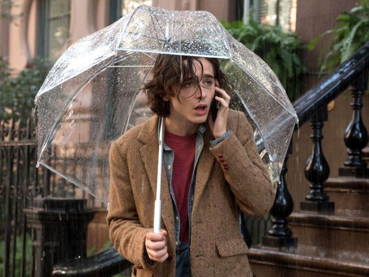 Una serata al cinema- Un giorno di pioggia a New York