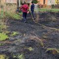 Artena, fuoco nei pressi del centro urbano: spento dai residenti