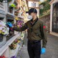 Un fiore su ogni lapide nei cimiteri di Lariano, Valmontone e Artena