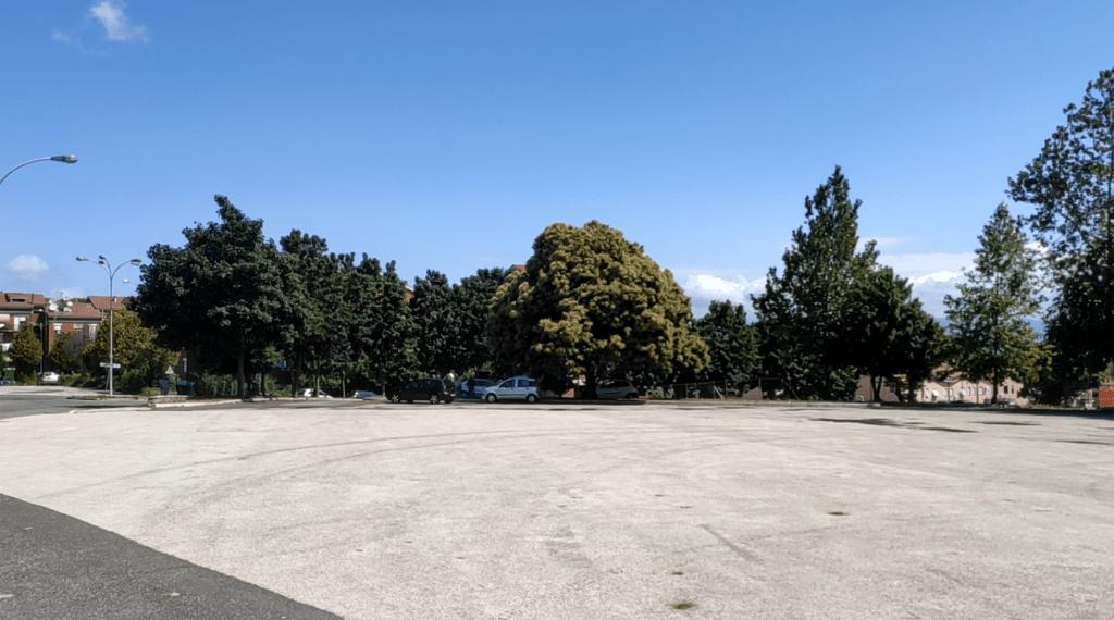 Piazzale Martiri della Libertà a Colle Fiorentino