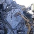 Artena, è bastato poco e la roccia è crollata: Fordeporta in sicurezza – VIDEO