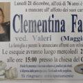 Addio a Clementina Fabrizi
