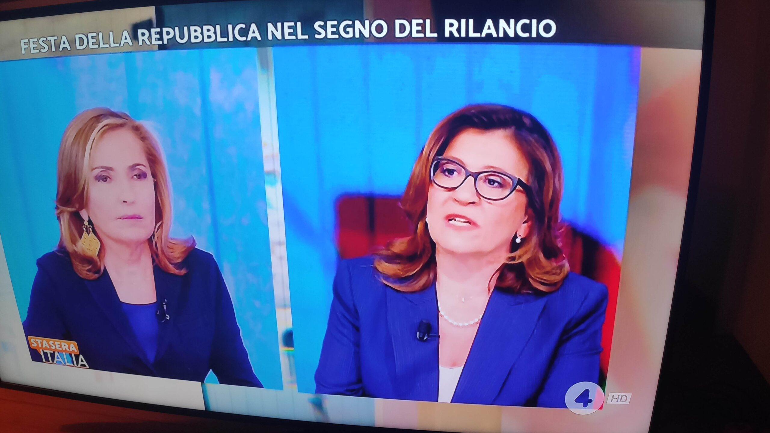 Elisabetta Trenta lascia il Movimento 5 Stelle
